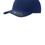 Port Authority Mens Stretch Fit Hat - Navy Blue