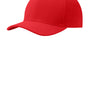 Port Authority Mens Stretch Fit Hat - Red