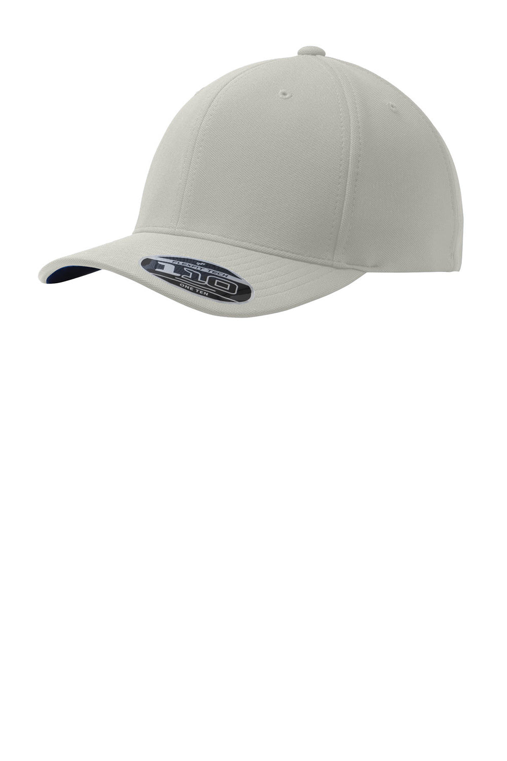 Port Authority C934 Mens Stretch Fit Hat Silver Grey Front