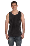 Comfort Colors C9360 Mens Tank Top Black Front