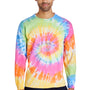 Tie-Dye Mens Long Sleeve Crewneck T-Shirt - Eternity