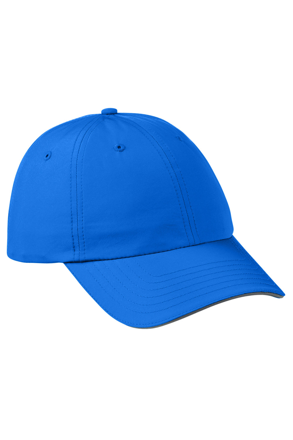 Core 365 CE001 Mens Pitch Performance Moisture Wicking Adjustable Hat Royal Blue Front