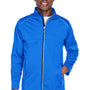 Core 365 Mens Techno Lite Water Resistant Full Zip Jacket - True Royal Blue