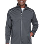 Core 365 Mens Techno Lite Water Resistant Full Zip Jacket - Carbon Grey