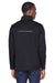 Core 365 CE708 Mens Techno Lite Water Resistant Full Zip Jacket Black Back