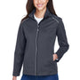 Core 365 Womens Techno Lite Water Resistant Full Zip Jacket - Carbon Grey