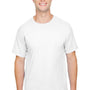 Champion Mens Short Sleeve Crewneck T-Shirt - White