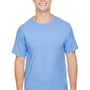 Champion Mens Short Sleeve Crewneck T-Shirt - Light Blue
