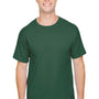Champion Mens Short Sleeve Crewneck T-Shirt - Dark Green