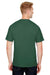 Champion CP10 Mens Short Sleeve Crewneck T-Shirt Dark Green Back