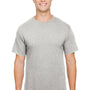 Champion Mens Short Sleeve Crewneck T-Shirt - Oxford Grey
