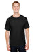 Champion CP10 Mens Short Sleeve Crewneck T-Shirt Black Front