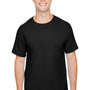 Champion Mens Short Sleeve Crewneck T-Shirt - Black