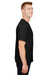 Champion CP10 Mens Short Sleeve Crewneck T-Shirt Black Side