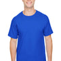 Champion Mens Short Sleeve Crewneck T-Shirt - Royal Blue