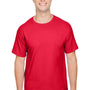Champion Mens Short Sleeve Crewneck T-Shirt - Athletic Red