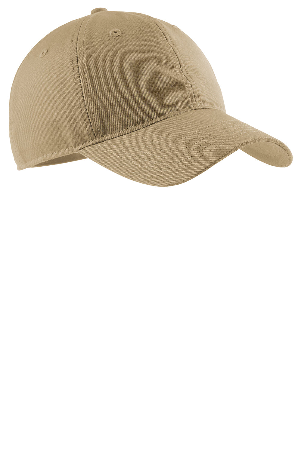 Port Authority CP96 Mens Adjustable Hat Khaki Brown Front
