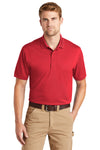 CornerStone CS4020 Mens Industrial Moisture Wicking Short Sleeve Polo Shirt Red Front