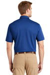 CornerStone CS4020 Mens Industrial Moisture Wicking Short Sleeve Polo Shirt Royal Blue Back