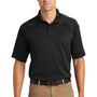 CornerStone Mens Select Tactical Moisture Wicking Short Sleeve Polo Shirt - Black