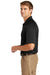 CornerStone CS410 Mens Select Tactical Moisture Wicking Short Sleeve Polo Shirt Black Side