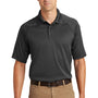 CornerStone Mens Select Tactical Moisture Wicking Short Sleeve Polo Shirt - Charcoal Grey