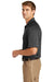 CornerStone CS410 Mens Select Tactical Moisture Wicking Short Sleeve Polo Shirt Charcoal Grey Side