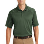 CornerStone Mens Select Tactical Moisture Wicking Short Sleeve Polo Shirt - Dark Green