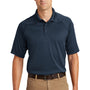 CornerStone Mens Select Tactical Moisture Wicking Short Sleeve Polo Shirt - Dark Navy Blue