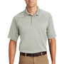 CornerStone Mens Select Tactical Moisture Wicking Short Sleeve Polo Shirt - Light Grey