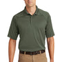 CornerStone Mens Select Tactical Moisture Wicking Short Sleeve Polo Shirt - Tactical Green