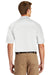 CornerStone CS410 Mens Select Tactical Moisture Wicking Short Sleeve Polo Shirt White Back