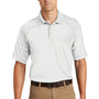 CornerStone Mens Select Tactical Moisture Wicking Short Sleeve Polo Shirt - White
