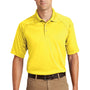 CornerStone Mens Select Tactical Moisture Wicking Short Sleeve Polo Shirt - Yellow