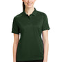 CornerStone Womens Select Tactical Moisture Wicking Short Sleeve Polo Shirt - Dark Green