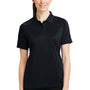 CornerStone Womens Select Tactical Moisture Wicking Short Sleeve Polo Shirt - Dark Navy Blue