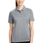 CornerStone Womens Select Tactical Moisture Wicking Short Sleeve Polo Shirt - Light Grey