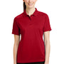 CornerStone Womens Select Tactical Moisture Wicking Short Sleeve Polo Shirt - Red