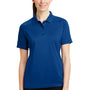 CornerStone Womens Select Tactical Moisture Wicking Short Sleeve Polo Shirt - Royal Blue