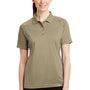 CornerStone Womens Select Tactical Moisture Wicking Short Sleeve Polo Shirt - Tan