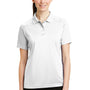 CornerStone Womens Select Tactical Moisture Wicking Short Sleeve Polo Shirt - White