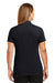 CornerStone CS419 Womens Select Moisture Wicking Short Sleeve Polo Shirt Navy Blue Back