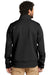Carhartt CT102199 Mens Crowley Wind & Water Resistant Full Zip Jacket Black Back