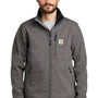 Carhartt Mens Crowley Wind & Water Resistant Full Zip Jacket - Charcoal Grey