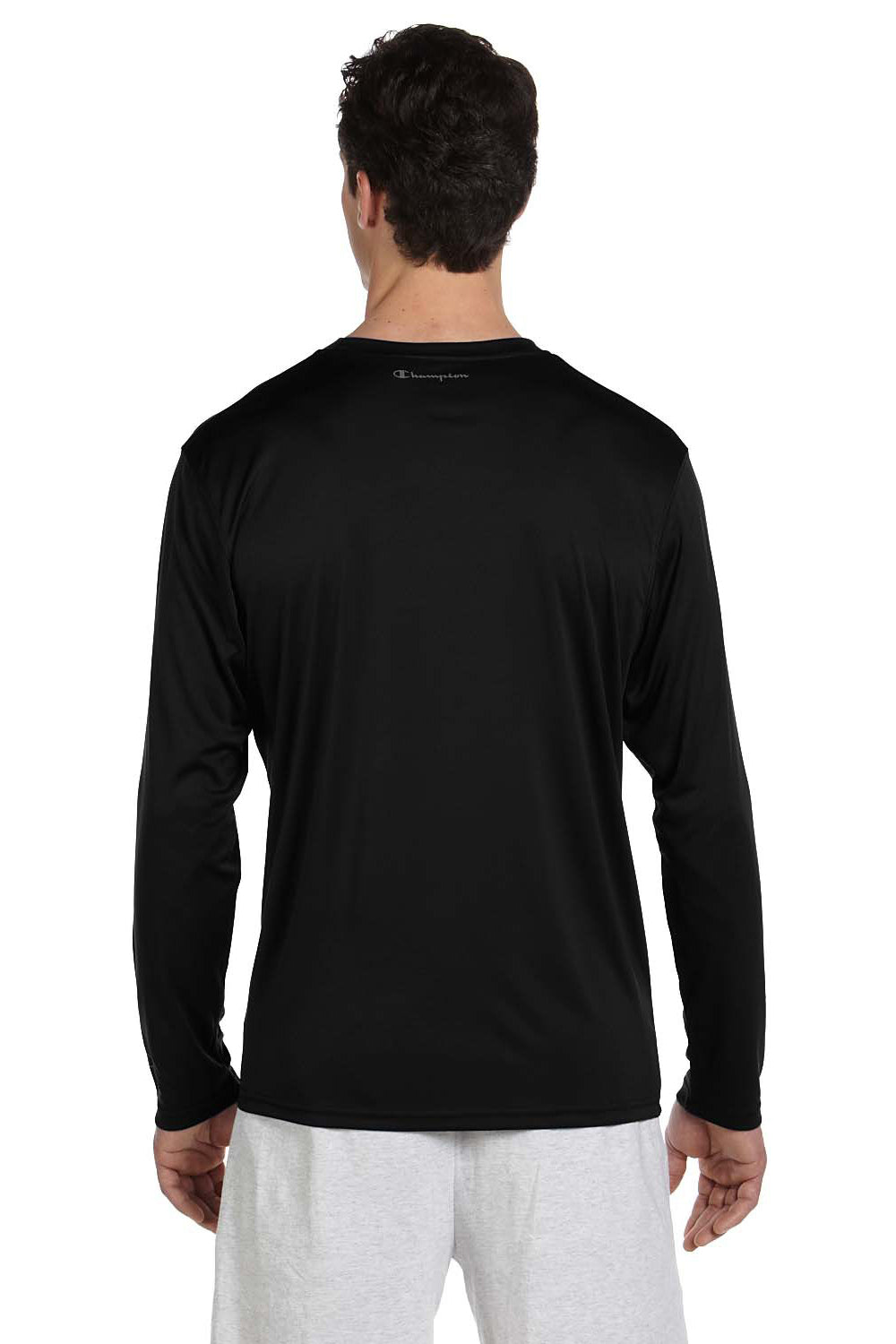Champion Double Dry Performance Long Sleeve Shirt Mens Athletic Tee New CW26