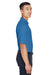 Devon & Jones DG150 Mens DryTec20 Performance Moisture Wicking Short Sleeve Polo Shirt French Blue Side