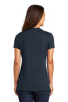 District DM1170L Womens Perfect Weight Short Sleeve V-Neck T-Shirt Navy Blue Back