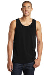District DT5300 Mens The Concert Tank Top Black Front