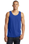 District DT5300 Mens The Concert Tank Top Royal Blue Front