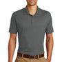Eddie Bauer Mens UPF 30+ Performance Short Sleeve Polo Shirt - Steel Grey